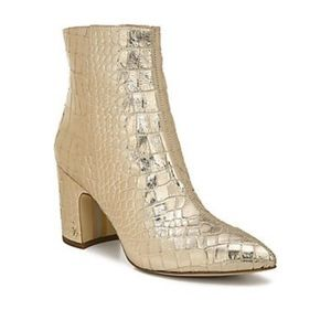 Sam Edelman Hilthy Boot Gold 7
